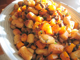 Browned Butter Gnocchi & Butternut Squash in a Pumpkin Pie Spiced Balsamic
