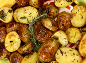 Jalapeno Rosemary Olive Oil Braised Potatoes