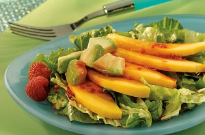 Diabetic Recipe – Mango Salad with Balsamic Vinaigrette Dressing
