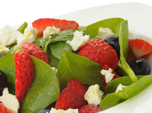 Walberry Spinach Salad