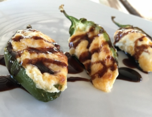 Garden Fresh Jalapeño Poppers with Strawberry Balsamic