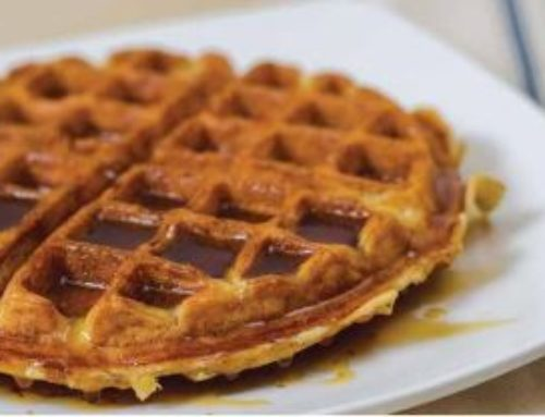 Olive Oil Waffles