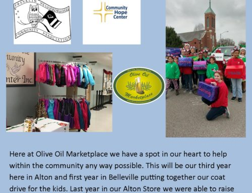 Olive Oil Marketplace Annual Kid's Coat Drive