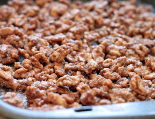 Sugar & Spice Walnuts
