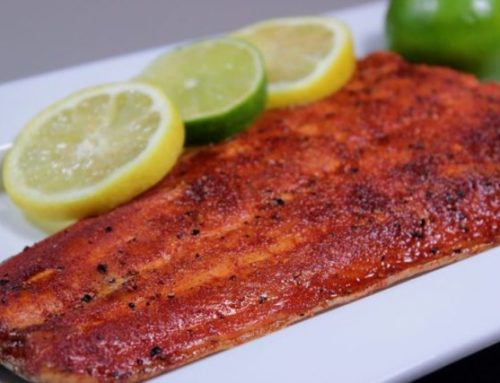 Cool Citrus Smoked Salmon