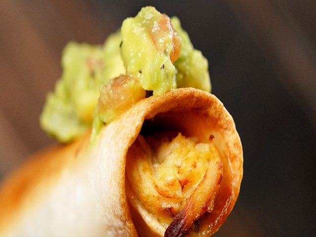Chicken Taquitos Air-fried