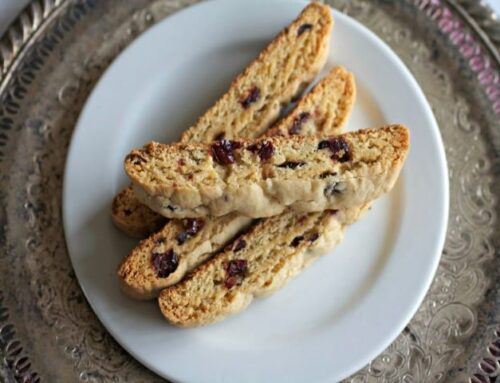 Biscotti with Butter Olive Oil from the South